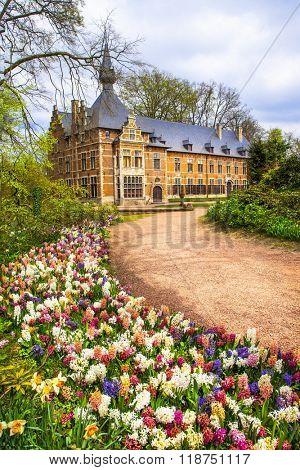castles of Belgium -Groot-Bijgaarden with beautiful gardens