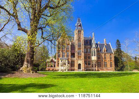 beautiful romantic castles of Belgium - Loppem