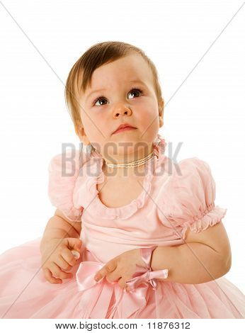 Curious Little Girl