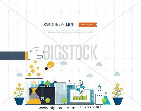 Smart investment, finance, market data analytics, strategic management, financial planning.