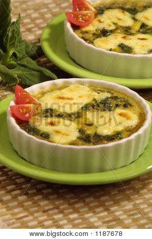 Spinach-Egg Caserole