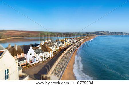 Slapton Sands Beach In Devon