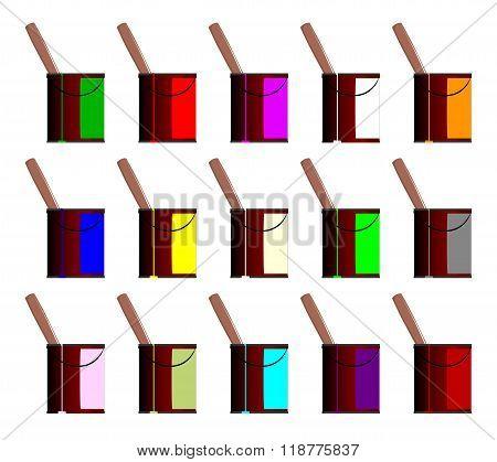 Paint Pots Computer Icons