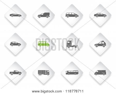 Vehicles Icon Set
