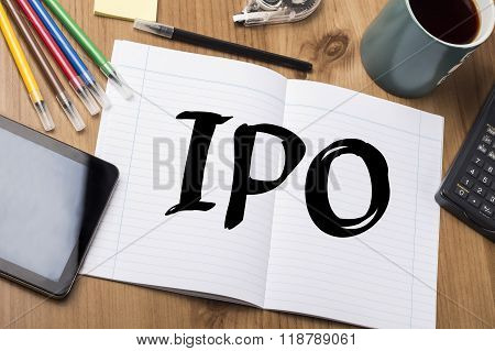 Ipo - Note Pad With Text