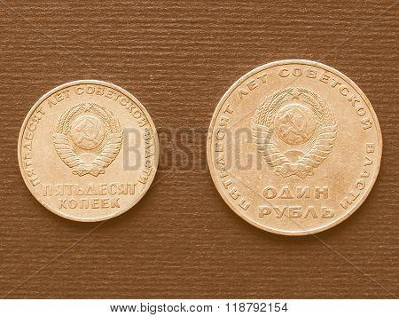 Cccp Coin Vintage