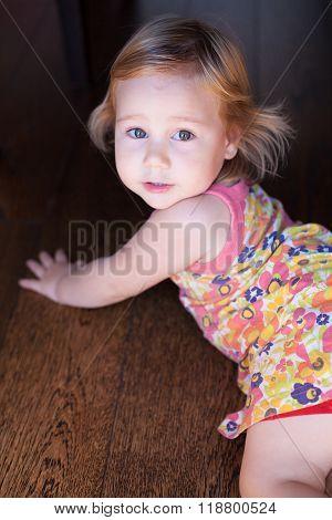 Pretty Baby Portrait