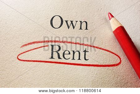 Choose To Rent