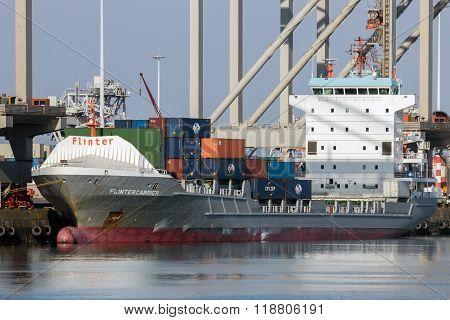 Flintercarrier Container Ship