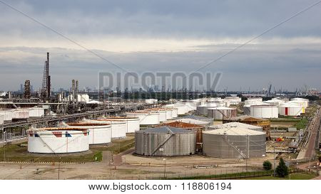Oil Refinery Rotterdam