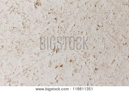 Old Wooden Background With White Paint