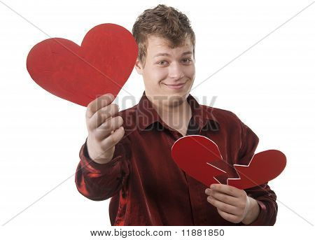 The Young Man Has Made A Correct Choice In Love