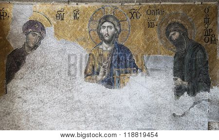 The Deesis Mosaic, Hagia Sophia