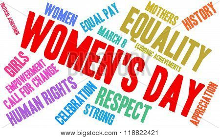 Women's Day Word Cloud