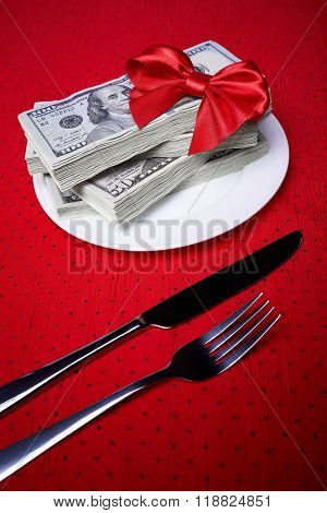 Dollars And Cutlery
