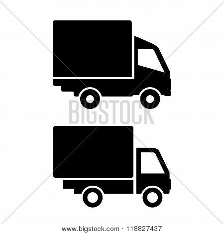 Lorry van icon