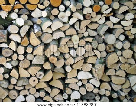 Firewood Log Stack