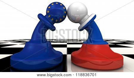 The confrontation between the Russian Federation and the European Union. The concept