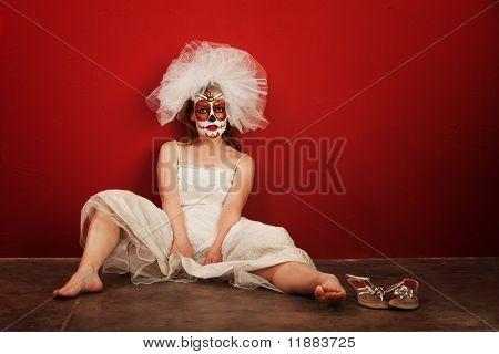 Sexy On Dia De Los Muertos