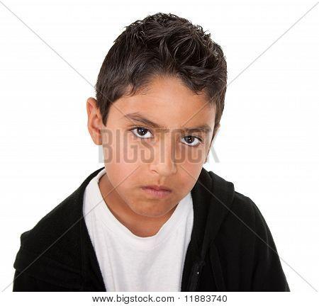 Serious Little Man