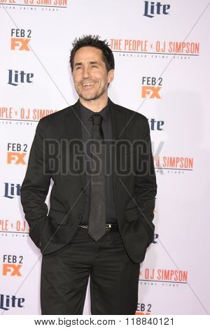 LOS ANGELES - JAN 27:  Mac Quayle at the American Crime Story - The People V. O.J. Simpson Premiere at the Village Theater on January 27, 2016 in Westwood, CA