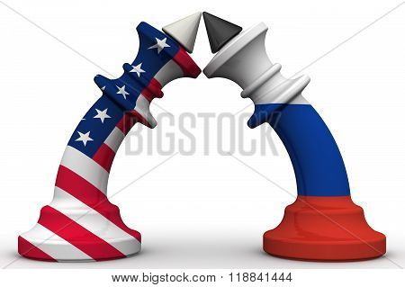 The confrontation between the Russian Federation and the United States of America. The concept