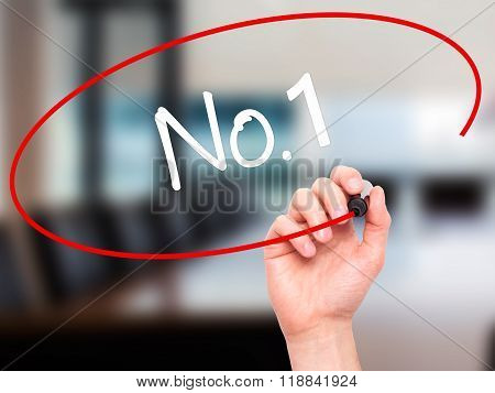 Man Hand Writing No