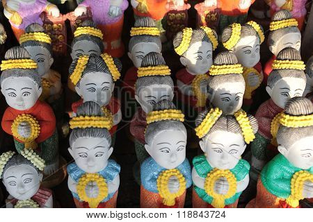 Asia Thailand Isan Khorat Skulpture Factory