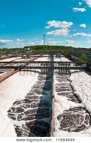 Sewage water station