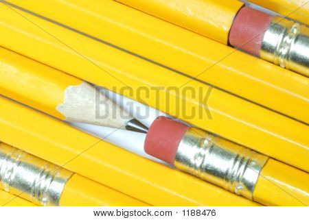 Pencils One Sharp One