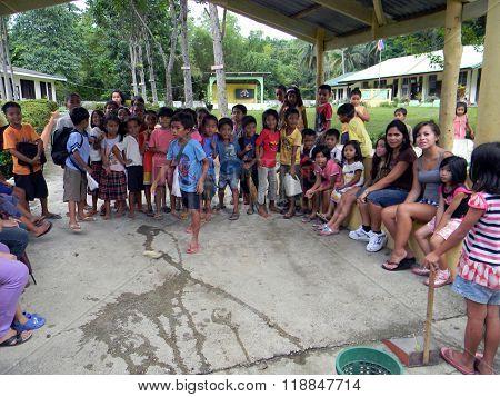 Mabini Elementary School Pupils