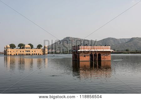 Jal Mahal on Man Sagar Lake