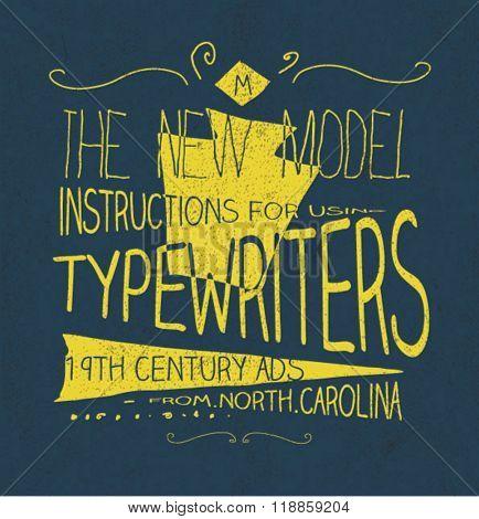 t-shirt graphic handmade typography