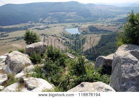 The historical complex Perperikon - ancient city built in South Bulgaria near Kardzhali