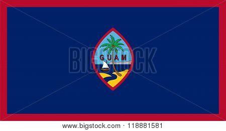 Standard Proportions For Guam Flag