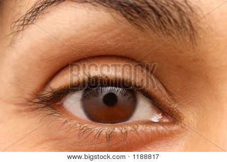 Eye Of An Indian Woman
