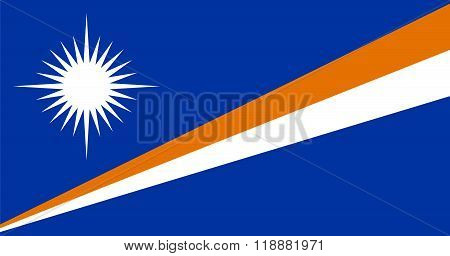 Standard Proportions For Marshall Islands Flag