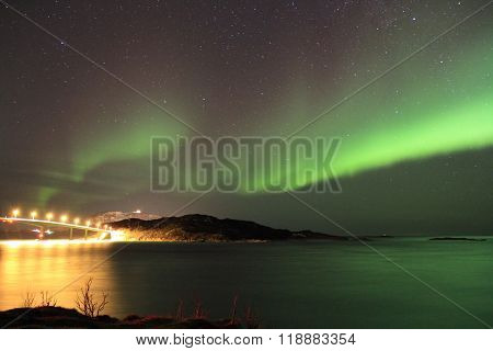 Northern lights. Tromso, Norway.