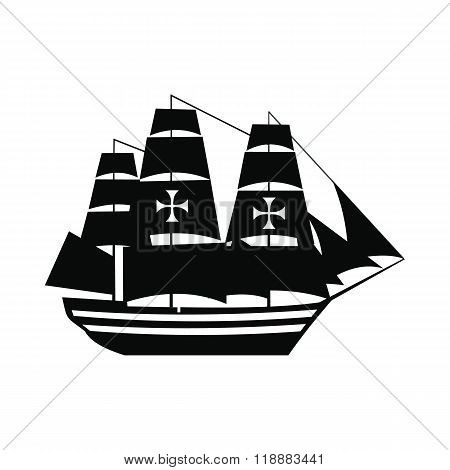 Columbus ship icon