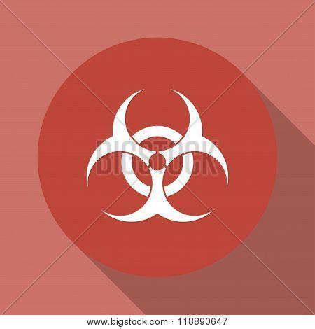 Bio Hazard Icon - Vector Web Illustration,