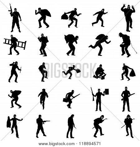 Robber silhouette set. Robber silhouettes. Robber silhouettes art. Robber silhouettes web. Robber silhouettes new. Robber silhouettes www. Robber set. Robber set art. Robber set web. Robber set new