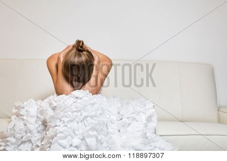 Depressed/Anxious young bride