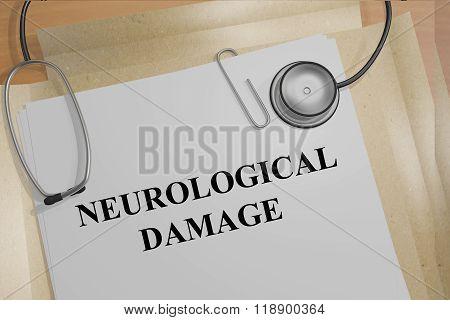 Neurological Damage Concept