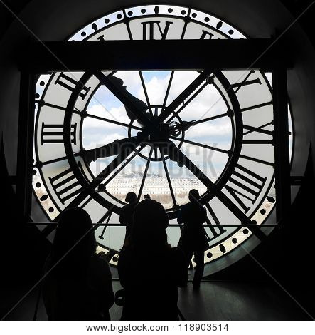 Musée D'Orsay Clock from inside