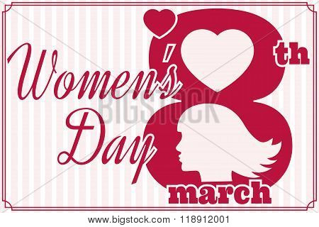 Women's Day.Women's Day Vector. Women's Day Drawing. Women's Day