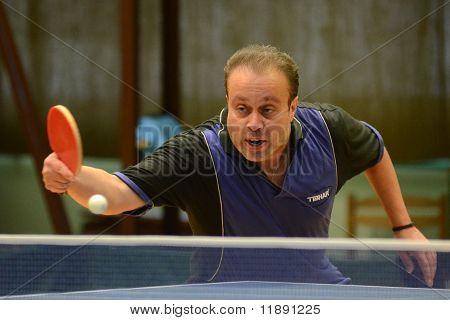 Kaposvar - Polgardi table tennis game
