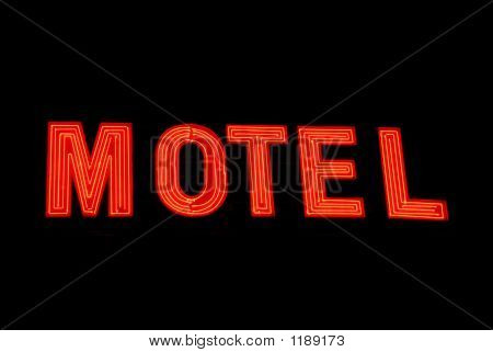 Neon Motel Sign 2