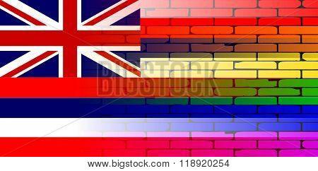 Rainbow Wall Hawaii