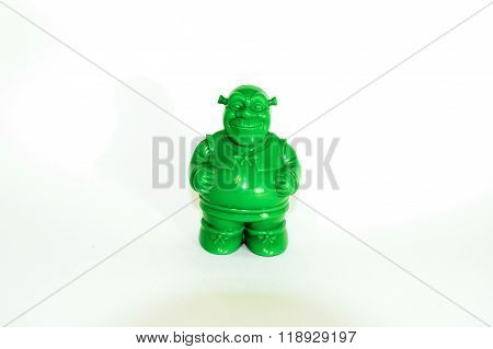 Shrek green