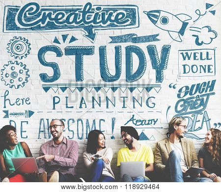 Study Studying Knowledge Education Learning Concept
